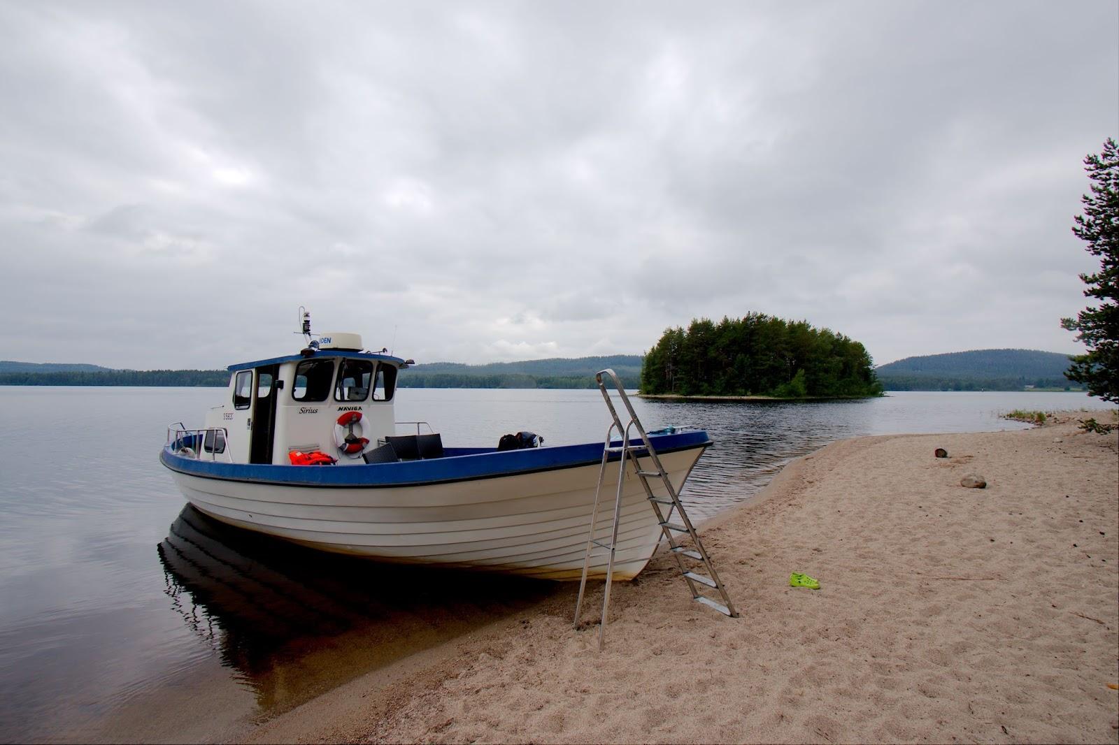 Metsähallituksen vene, Pielisen hiekkasaaret