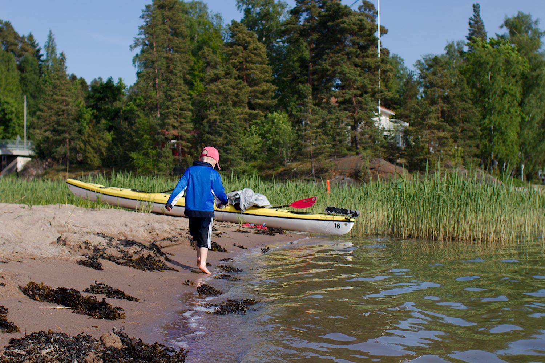 Suinonsalmen uimaranta, Espoo