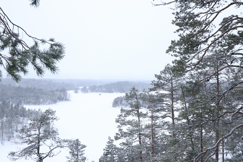 Lumen perässä Repovedellä, tukikohtana Kuutinkämppä