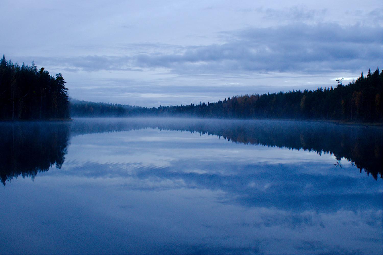 Savijärvi syysaamuna