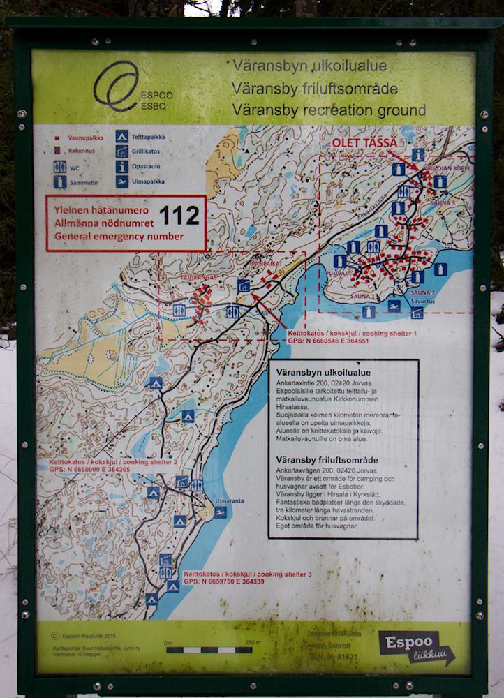 Väransbyn kartta