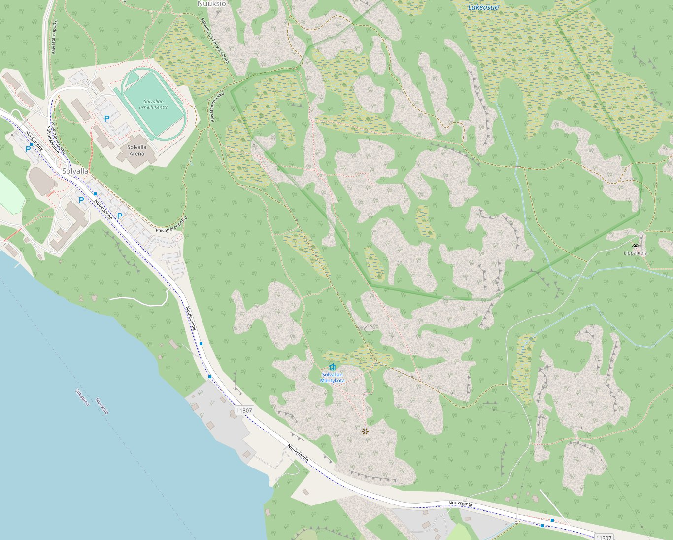 Kartta, Meerlammen lippaluola