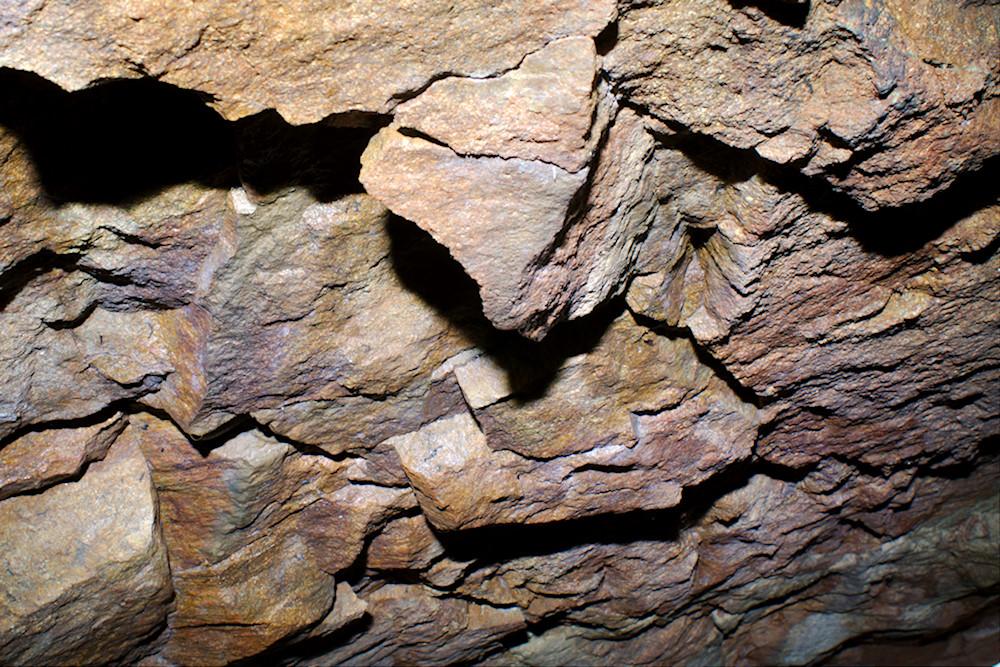 Grottbergetin luolan katto