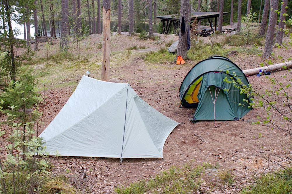 Teltan Pikku-Parikkaalla