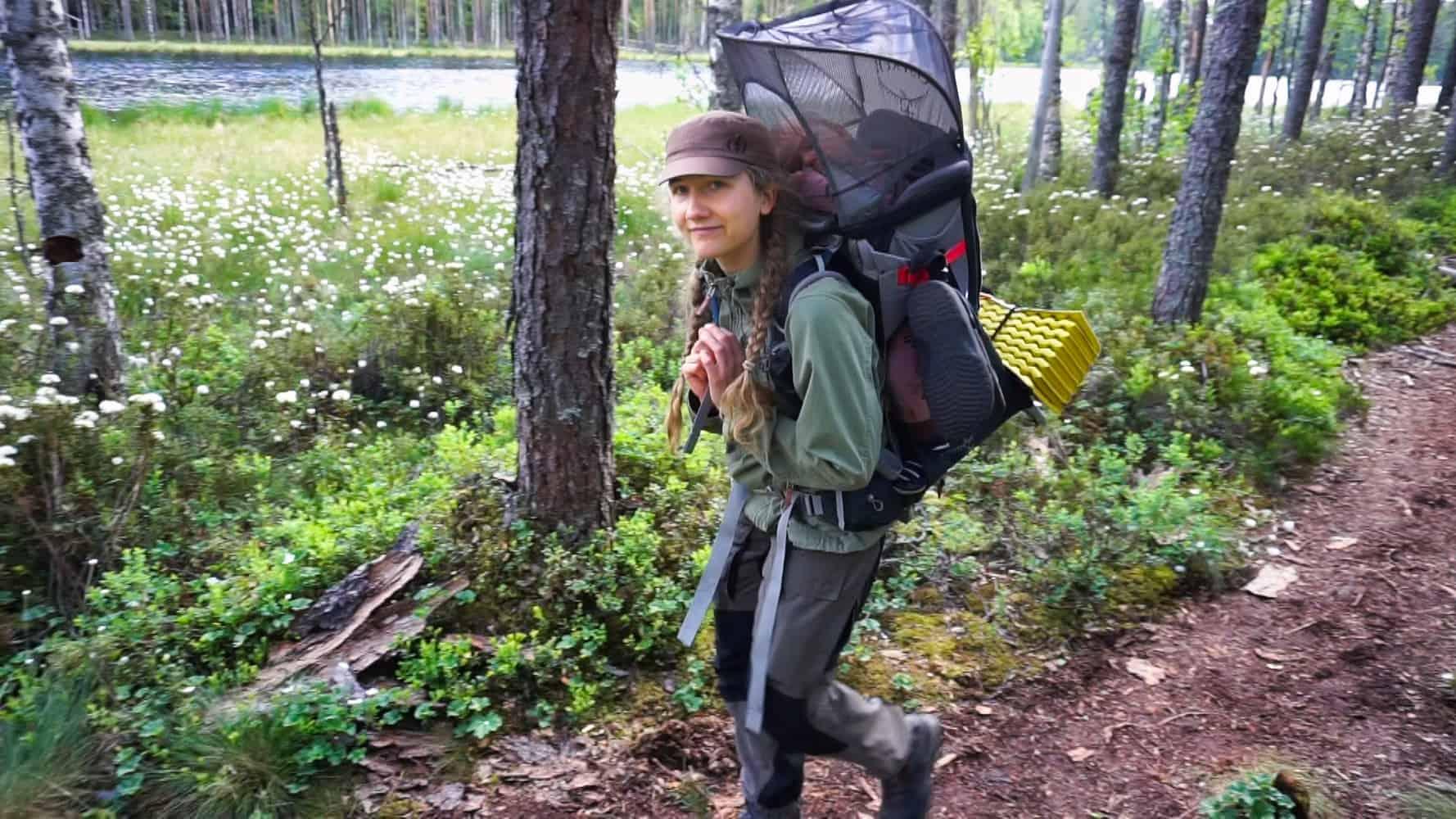 Vauvan kanssa retkelle –haastattelussa Metsämutsi-kanavan Anni