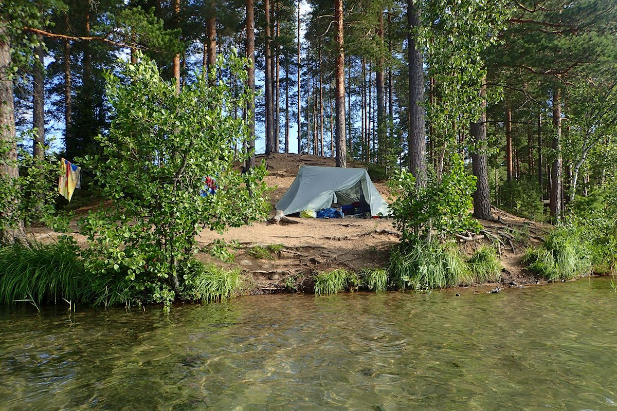 3 +1 helppoa ja hienoa telttaretkikohdetta noin 100 km Helsingistä