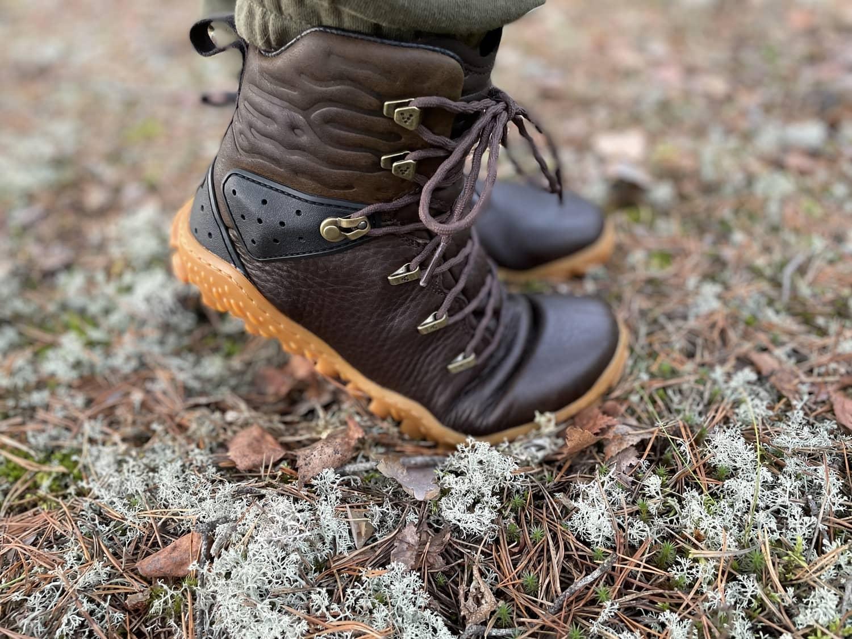 Vivobarefoot Tracker Forest ESC -paljasjalkakengät ulkoiluun, retkeilyyn ja vaellukselle